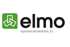 logo, logotipo elmo, ingenieria farmaceutica, lineas completas envasado farmacia, farmacia