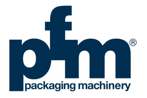 logotipo packaging maquinaria pfm paqueteria